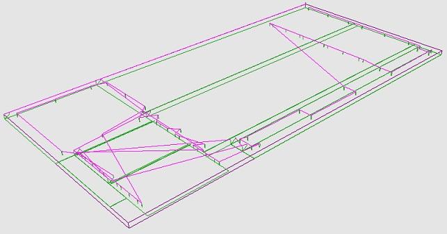 同德家具数控加工模拟图